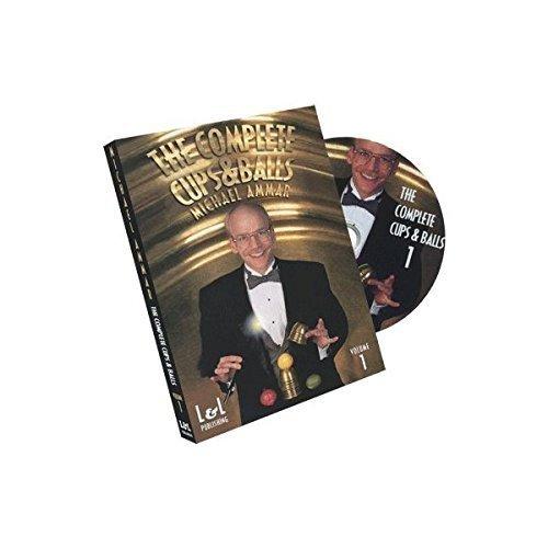 DVD The Complete Cups & Balls (Vol.1) - Michael Ammar