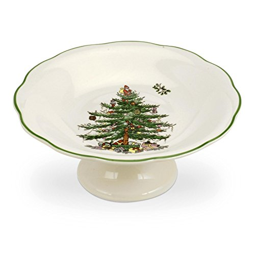 Spode modellierte-Beiner Candy Seifenschale, Keramik, Mehrfarbig Spode China Christmas Tree