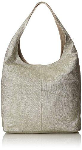 Unisa Damen Zislote_mel Bowling Tasche, Silber (Platino), 36x60x18 cm