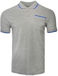 Lambretta Pocket Polo Shirts T-Shirts Collar Neck Lightwight Mens UK S-4XL f676f4d18
