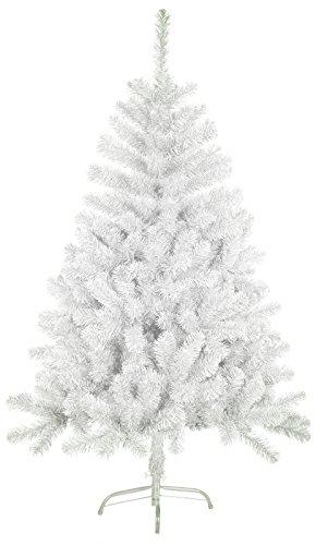 Foto de Árbol de Navidad artificial árboles C/Soporte metálico 120-210cm (Blanco, 180cm 477Tips)