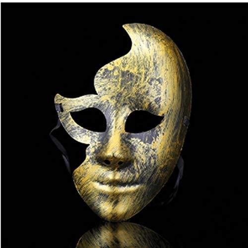 Kostüm Machen Mime Sie Einen - LKJH Maske Party DIY Scary Masken Vollgesichts Cosplay Maskerade Mime Maske Ball Party Kostüm Masken