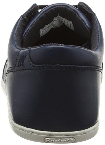 Boxfresh Herren Spencer Icn Lea Nvy Sneaker Blau (Marineblau)