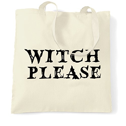 Slogan Zitat Design Premium-Qualität Neuheit Tragetasche (Scary Witch Halloween Kostüme)