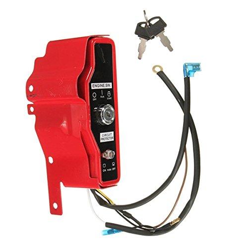 Wooya Ignition Switch Control Box Mit 2 Schlüsseln Für Honda Gx390 13Hp Gx340 11Hp -