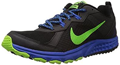 Nike Men's Wild Trail Black,Electric Green,Hyper Cobalt Outdoor Multisport Training Shoes -6 UK/India (40 EU)(7 US)