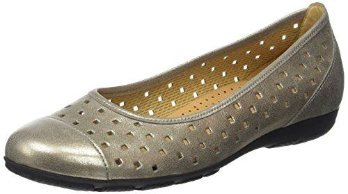 Gabor Shoes Fashion, Ballerine Donna Marrone (mutaro 63)