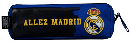 Real Madrid – Estuche Unisex, Color Azul
