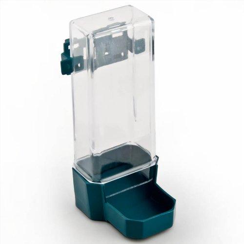 Relaxdays Käfig Futter- oder Wasserspender Futterautomat Vogelfutterspender Rechteckig