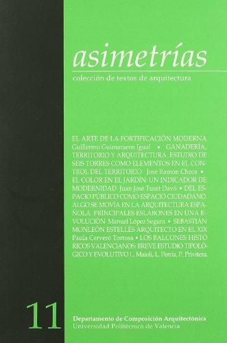 Asimetrías 11. Colección de Textos de Arquitectura (Revista) por Juan Francisco Noguera Giménez