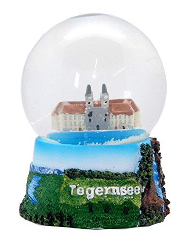 30059 Souvenir Schneekugel Tegernsee Schloss Wallberg 65mm Durchmesser