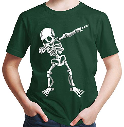 HARIZ  Jungen T-Shirt Dab Skelett Dab Teenager -