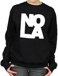NOLA New Orleans Louisiana Blues Music Womens Sweatshirt