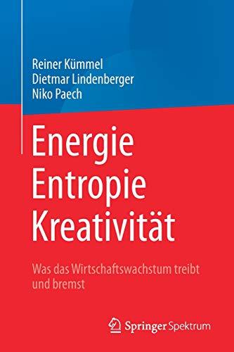 Energie,  Entropie, Kreativität: Was das Wirtschaftswachstum treibt und bremst