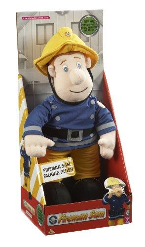 Image of Fireman Sam Talking Plush Toy