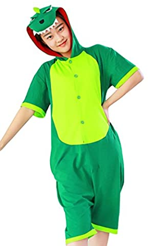 Dinosaur Adulte Costumes Dhalloween - Gillbro Unisexe Unisexe Summer Cartoon