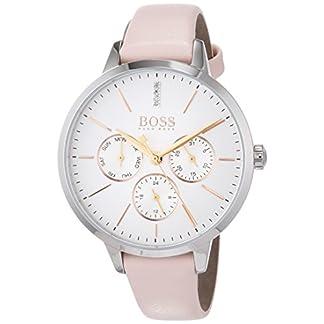 Hugo BOSS Reloj Multiesfera para Mujer de Cuarzo con Correa en Cuero 1502419