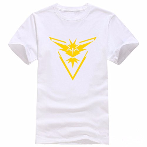Men's Pokemon Printed Cotton Short Sleeve Tee Shirt 3