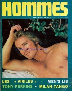 HOMMES [No 23] du 01/10/1975