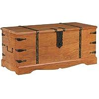 EcoIndia sheesham chest big coffee table vintage thakat hardwood trunk
