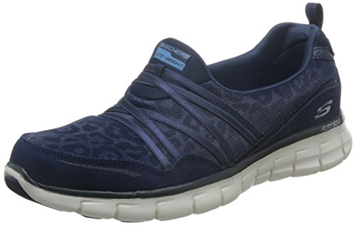 Skechers (SKEES) D'lites - Me Time, baskets sportives femme bleu (NVW)