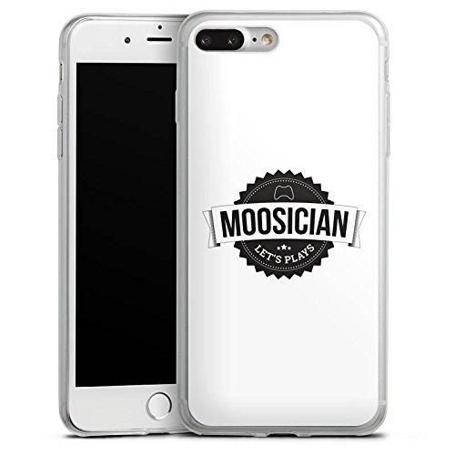 Apple iPhone X Slim Case Silikon Hülle Schutzhülle M00sician Merchandise Fanartikel Let's Play Silikon Slim Case transparent