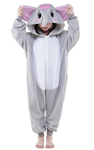Kids Onesie Cosplay Pyjamas,chilrden's Halloween Animal one Piece Pajamas Sleepwear,Cartoon Kigurumi Cosplay Costume Nightwear