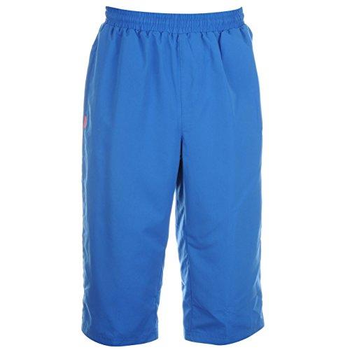 Preisvergleich Produktbild Slazenger Herren Dreiviertel Hose 3/4 Sporthose Trainingshose Jogginghose Shorts Blau Medium