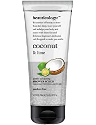 Baylis & Harding PLC Beauticology Coconut & Lime Exfoliant pour Douche en Tube 250 ml