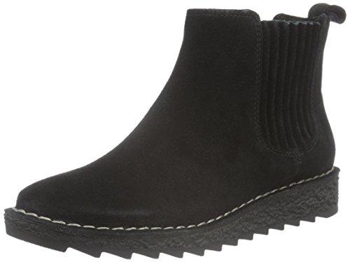 Clarks Damen Olso Chelsea Boots, Schwarz (Black Suede), 41 EU Clarks 10 Damen