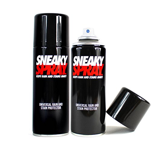 Sneaky Spray - Protector para zapatos de gamuza impermeable – 2 latas – 400 ml.
