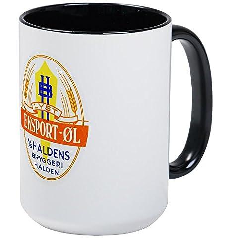 CafePress - Norway Beer Label 5 - Coffee Mug, Large 15 oz. White Coffee Cup