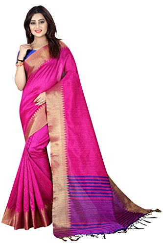Sarees (Macube Women's Clothing Saree Today best offer Designer Free Size Printed Bhagalpuri Silk Saree With Blouse Piece For Women(MS1446))