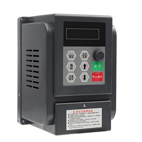 ChaRLes 0.75Kw 220V Variable Frequency Inverter Controller Single Phrase Frequency Converter Inverter Single