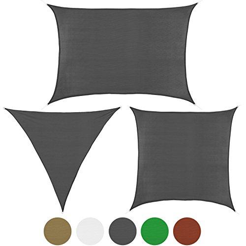 Toldo SHADOW Velas de sombra en tallas y colores diferentes de BB Sport, Colour: Graníto;Tamaño:3m x 3m