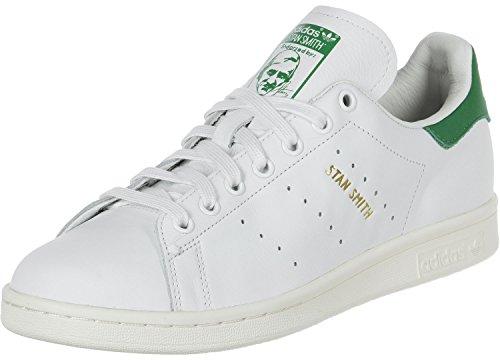 adidas Stan Smith White White Green weiss