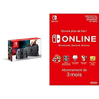 Console Nintendo Switch avec paire de Joy-Con : gris + Switch Online 3 Mois [Download Code] (B07MDGRCSB) | Amazon price tracker / tracking, Amazon price history charts, Amazon price watches, Amazon price drop alerts