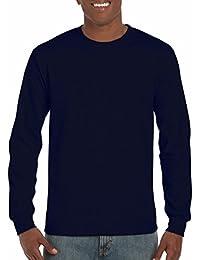 GILDAN Ultra Cotton L/Sleeve Tee, T-Shirt Homme