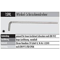 ELORA 159010143000 159L-14MM Winkel-SCHRAUBENDR. LANG, Made in Germany
