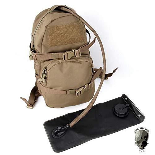 LXUNIABackpack Modular Assault Pack w 3L TrinkrucksackRucksack Paintball Airsoft Combat Gear -