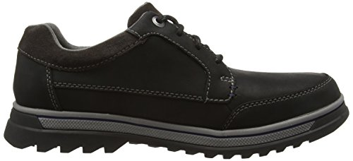 Clarks RipwayPath GTX, Brogue stringata uomo Nero (Black Leather)