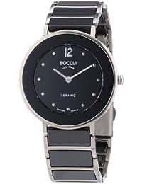 Boccia Damen-Armbanduhr Analog Quarz Keramik 3209-03