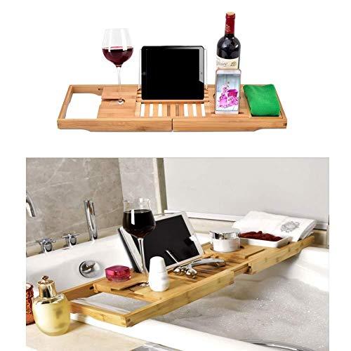 Bandejas bañera Bandejas baño Mesa organizador bastidor