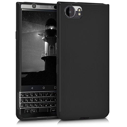 kwmobile Funda para Blackberry KEYone (Key1) - Carcasa para móvil en [TPU Silicona] - Protector [Trasero] en [Negro...