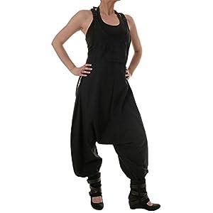 Vishes – Alternative Bekleidung – Baumwoll Latzhose Haremshose Overall