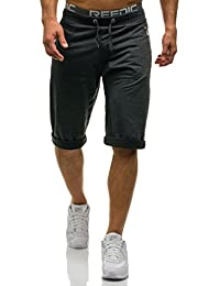 BOLF Herren Shorts Kurzhose Sporthose Jogginghose Bermudas Fitness Motiv Kurze Hose Trainingsshorts Freizeithose Trainingshose Fitnesshose Hose Mix