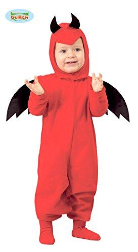 Baby Teufel - Kostüm für Kinder Gr. 86 - 98, Größe:86/92