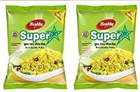 KRISHNA FOOD PRODUCTS Super Poha, Combo 2Kg (Pack of 2)