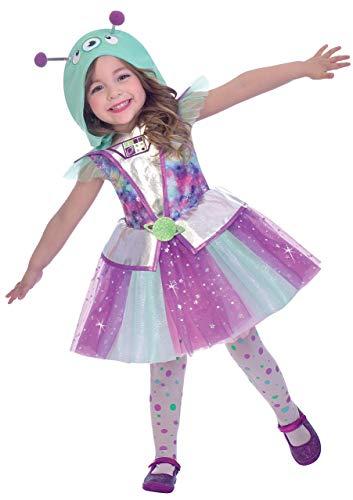 Cutie Kleinkind Kostüm - Fancy Me Mädchen Kleinkinder Alien Cutie
