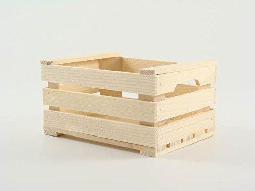 Calder 5079 cassetta in legno, marrone, 17x12x9